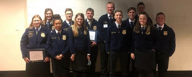 HCHS FFA Attends State Convention